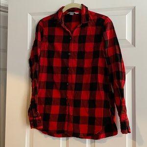 Old Navy Plaid Flannel Classic Shirt - sz M